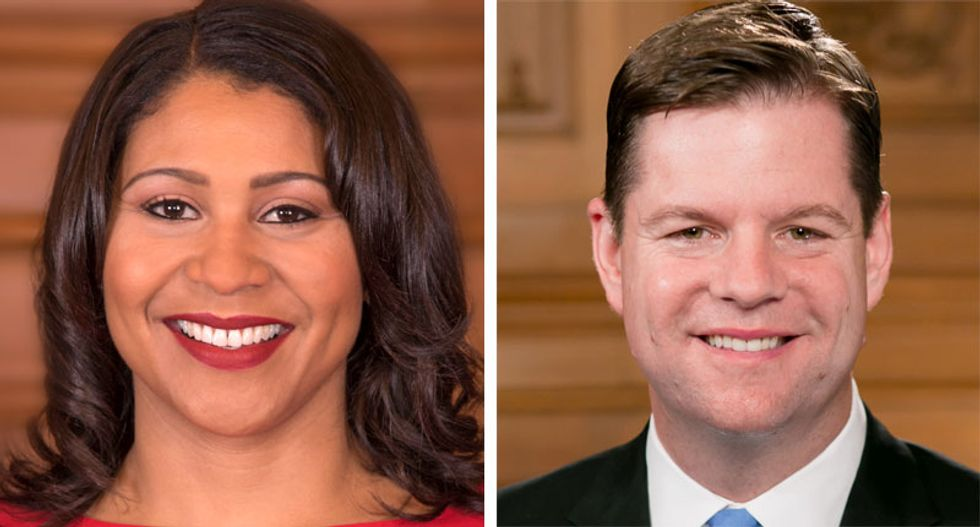 'Shame on you': San Francisco activists enraged as progressives replace acting mayor London Breed with Mark Farrell