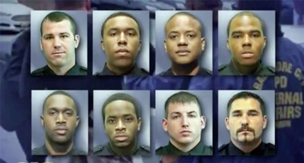 REVEALED: Rogue officers inside Baltimore police used illegal GPS trackers and grappling hook to rob citizens