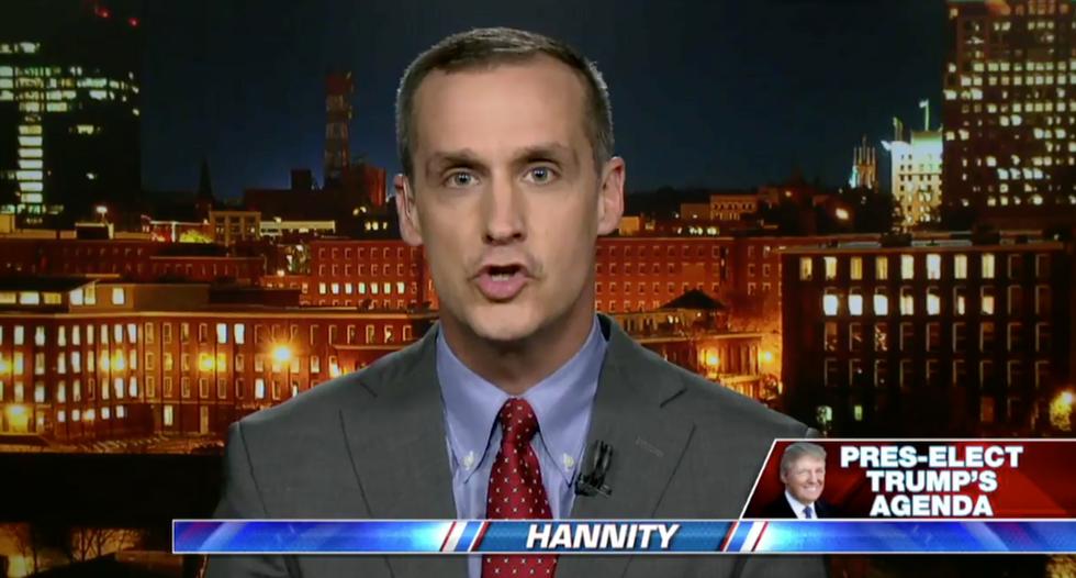 WATCH: Corey Lewandowski tells Fox News audience Trump ended the left's War on Christmas