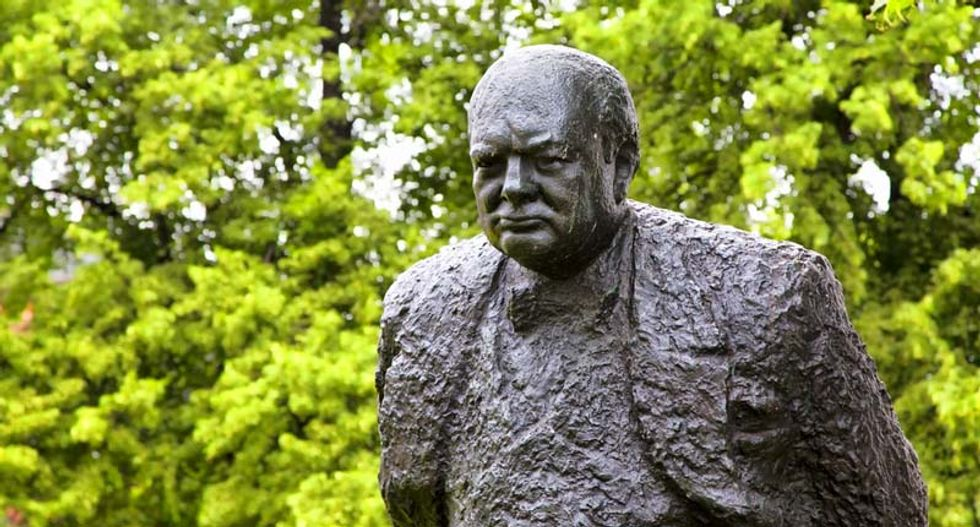 Unearthed essay on alien life reveals Churchill the scientist