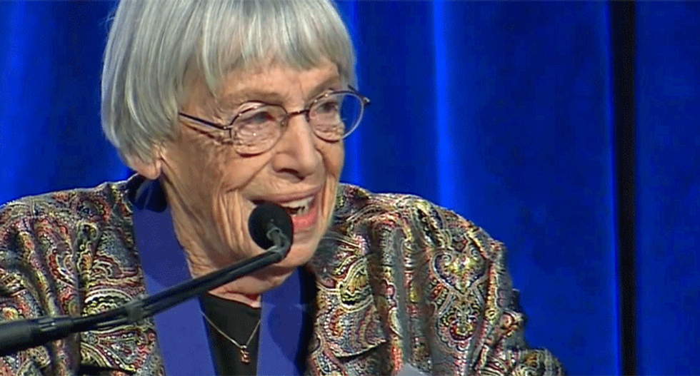 Science fiction writer Ursula Le Guin: 'We will need writers who can remember freedom'