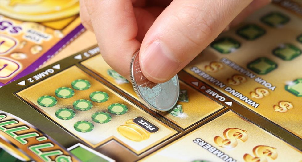 Bartender finds $20 bill, wins $1 million California lottery with it