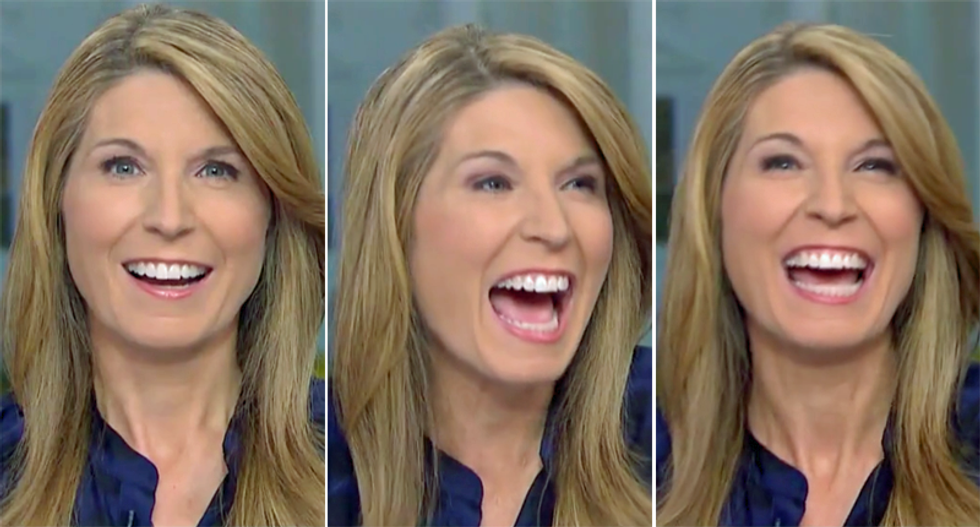 MSNBC's Nicolle Wallace chuckles after Times reporter explains why Trump has no hope of pivoting to an empathetic campaign