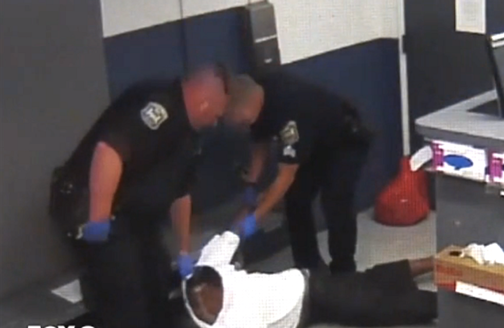 VIDEO: Michigan cops strap black man to a chair and beat him until he is blind in one eye