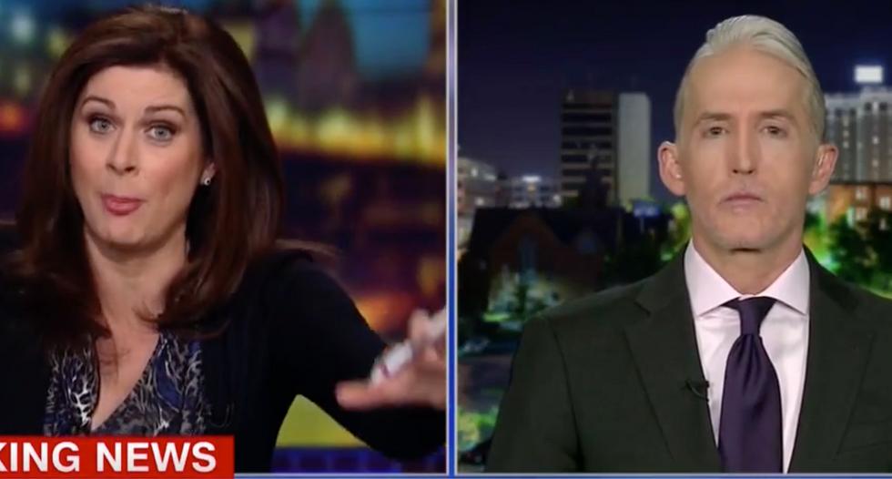 WATCH: CNN's Erin Burnett hammers Trey Gowdy over House GOP's 'extraordinarily reckless' Nunes memo