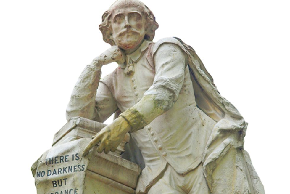 The unsavory motivations of the Shakespeare truthers