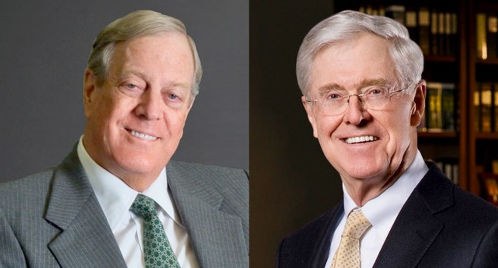 GOP's health care vote will test Koch brothers' influence vs. Trump