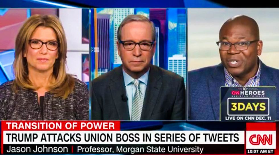 'He's auditioning to be a dictator': CNN panel erupts over Trump's targeting of individual Americans