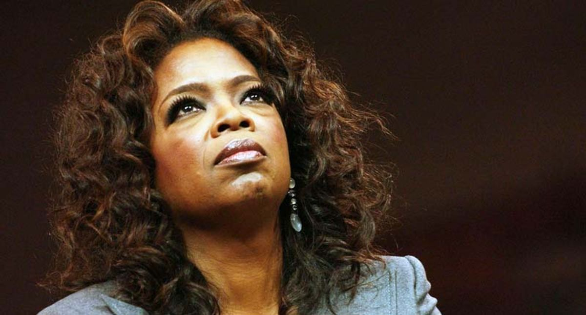 Only Oprah had the empathy and interview skills to take on the damaging British media – and win
