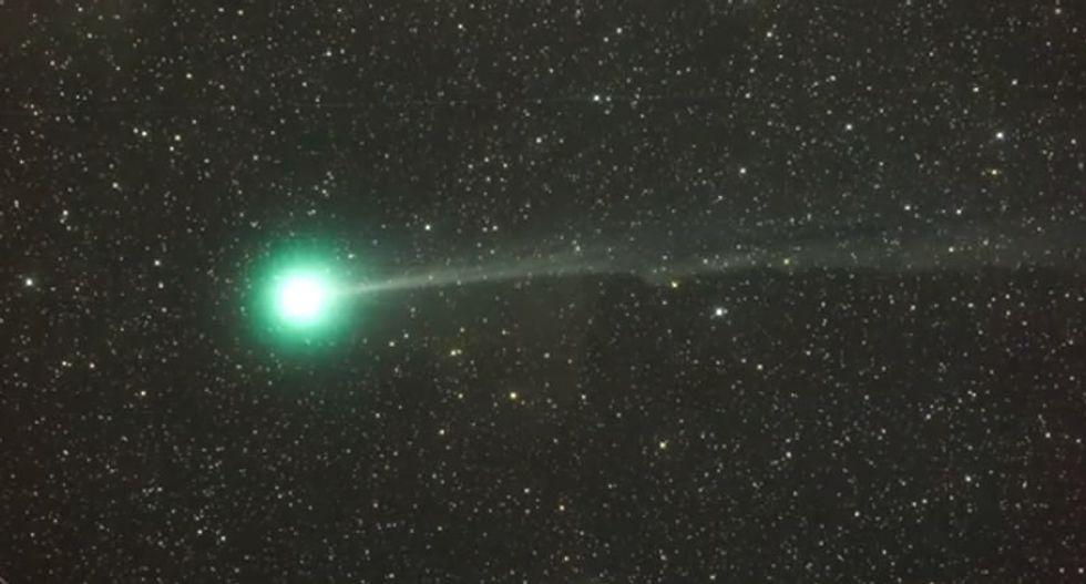 Comet to zip across night sky on New Year's Eve