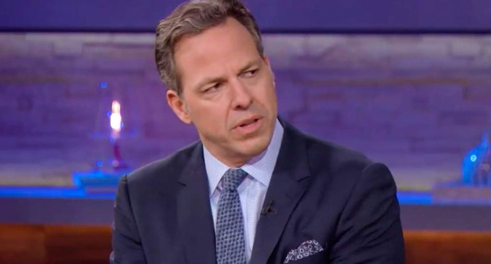 'Fake news is what they call any news that they don't like': Tapper slams Trump's attack on CNN cred
