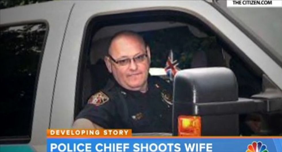 Georgia police chief who shot wife in bed resigns