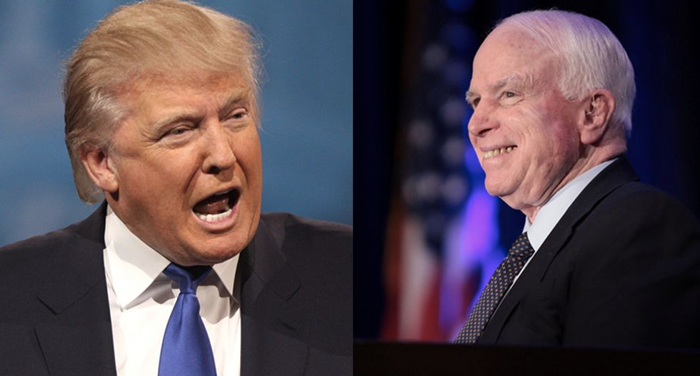 Trump demanded apology from John McCain in 2017 for withdrawing his endorsement: report