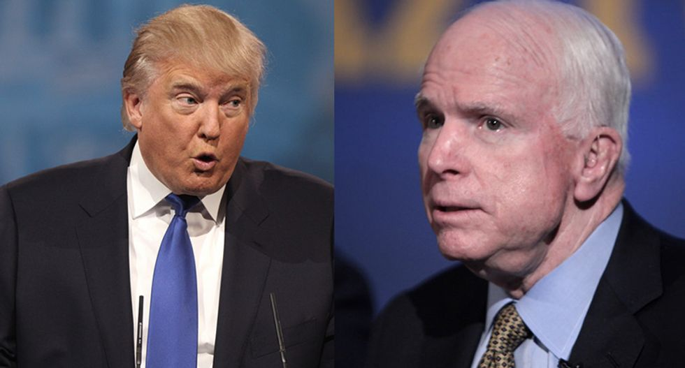 Trump demanded the Navy move the USS John McCain 'out of sight' during Japan visit: report