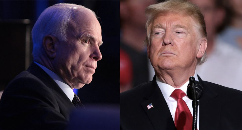 Here's how Trump's latest comments dredge up his nasty treatment of John McCain