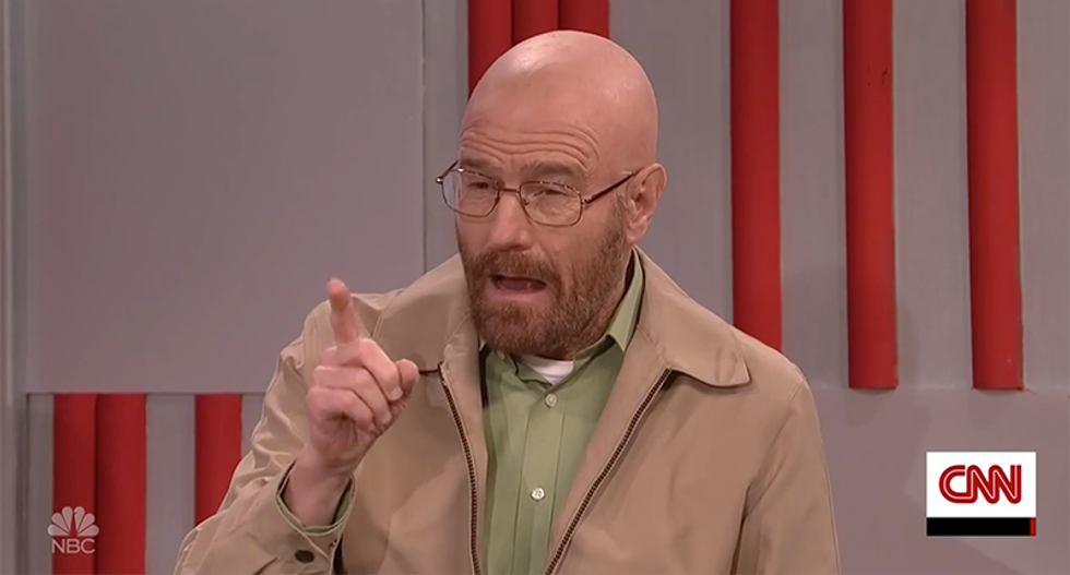 SNL hilariously mocks Trump's bad cabinet picks with 'Breaking Bad' Walter White for the DEA