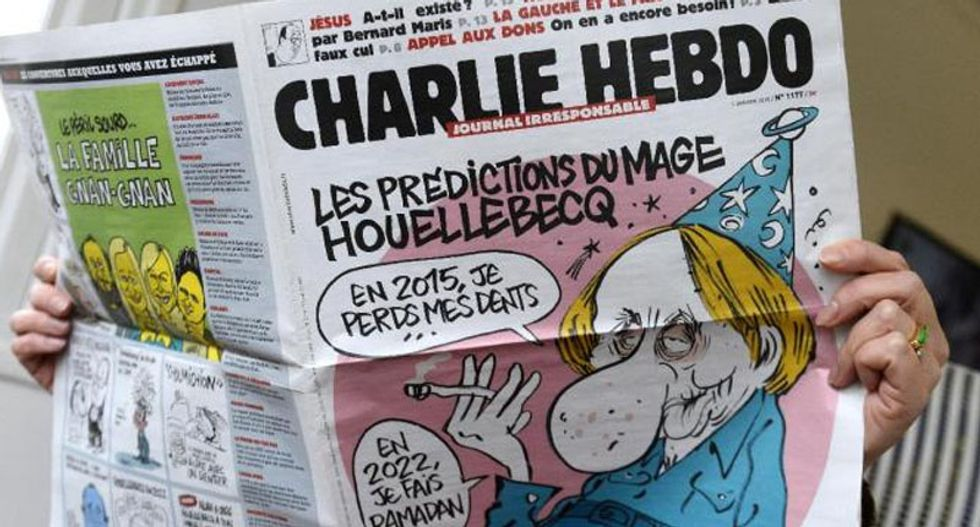 Charlie Hebdo launches app version featuring prophet Muhammed cover