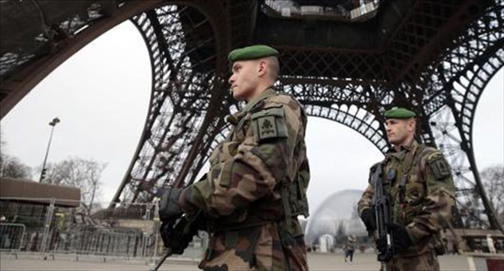 WATCH LIVE: French anti-terrorism unit searches for suspects in Charlie Hebdo attack continues