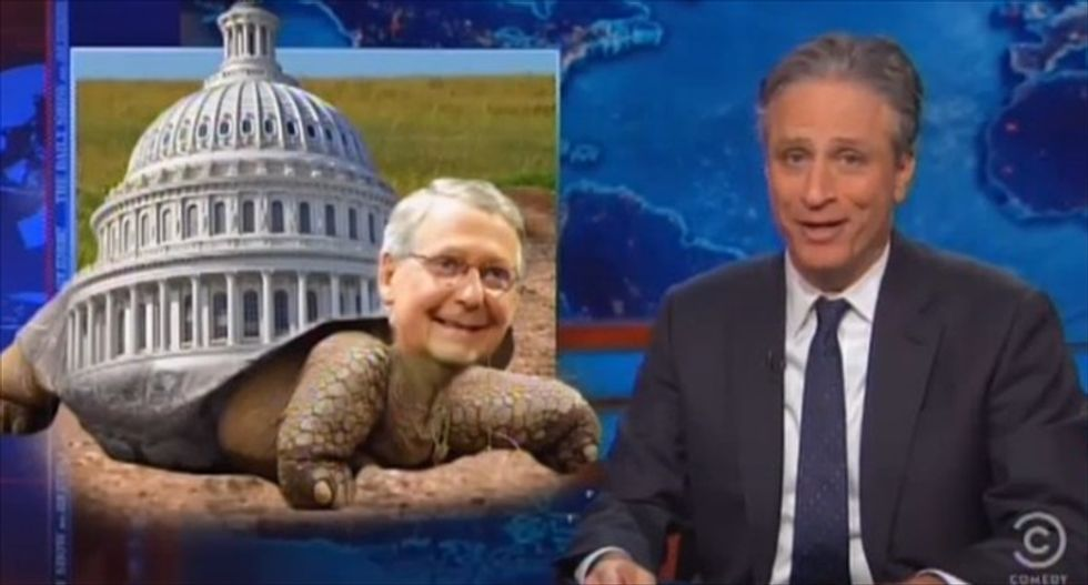 Jon Stewart's shaming campaign gets McConnell to promise passage of 9/11 responders bill