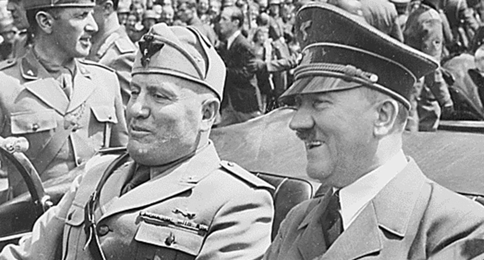 What Mussolini and Hitler's rise to power can teach us about opposing Trump