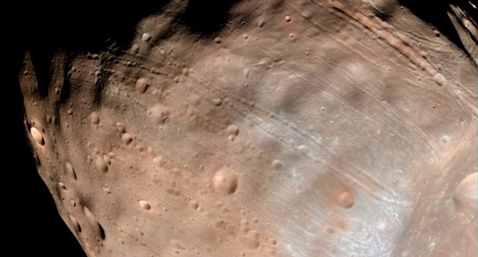 New images of Martian moon Phobos obtained by ExoMars orbiter