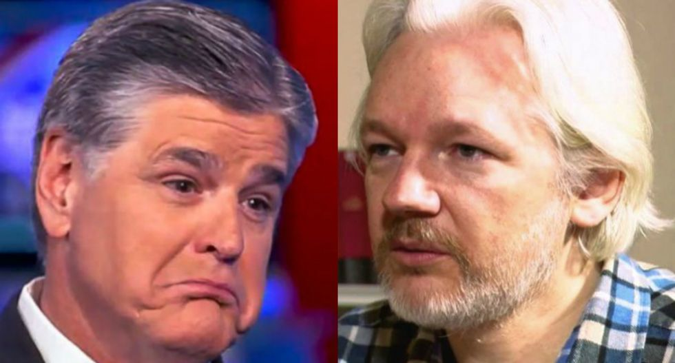 Former NSA analyst connects the dots between Sean Hannity, Julian Assange and Russian spies