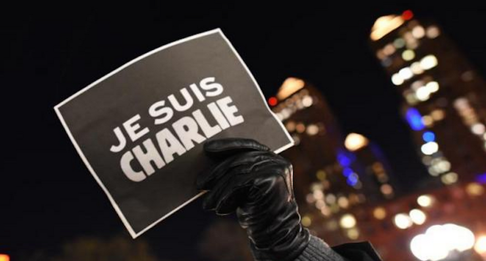 US on Mohammed image: We absolutely support the right of Charlie Hebdo to publish things like this