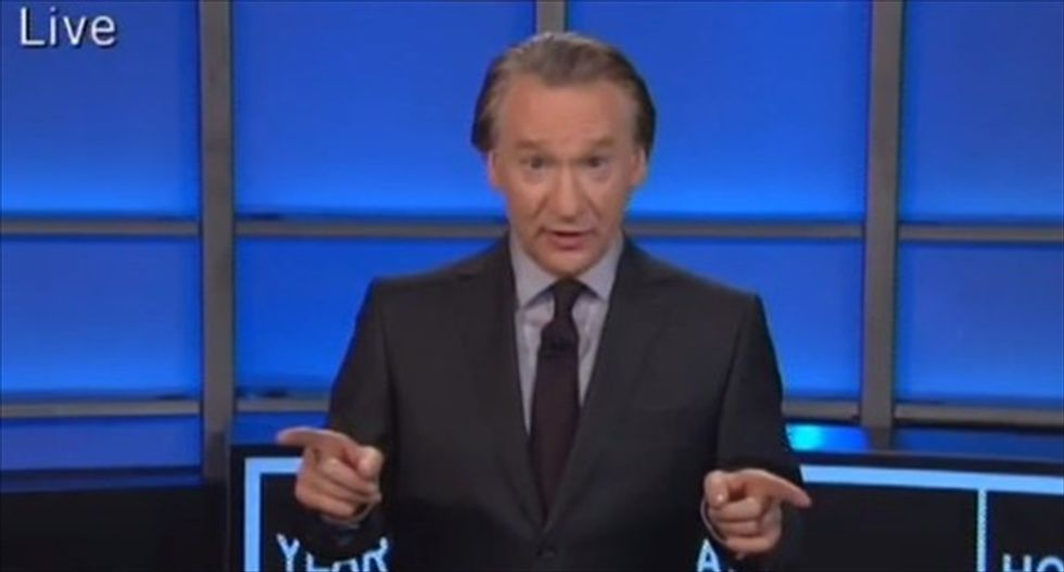 Bill Maher mocks 'ignorant' Idaho Republican who asked about women swallowing cameras