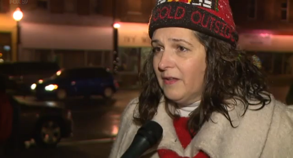 'We'll fight it': Town in an uproar after ACLU seeks to remove cross from public Christmas display