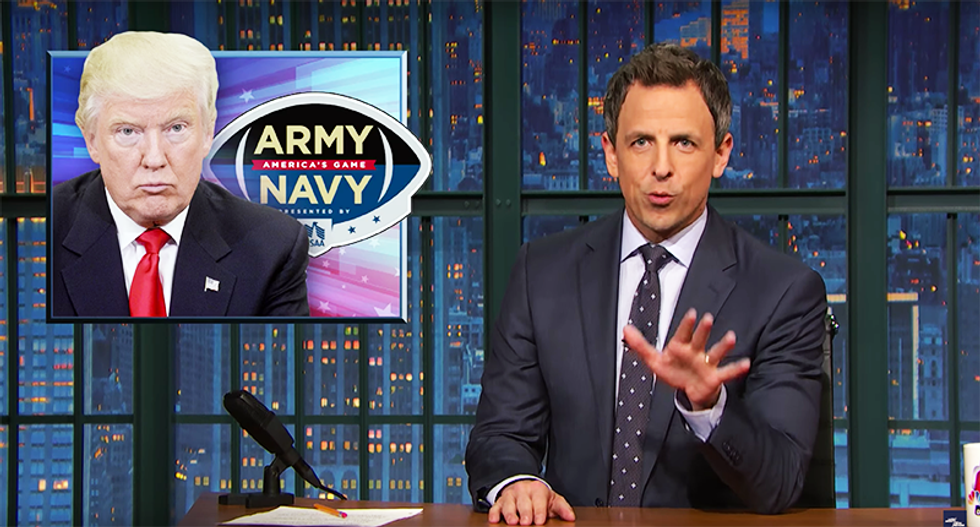Seth Meyers: It doesn't matter if Russia hacked RNC — 'Trump is a hacked email come to life'