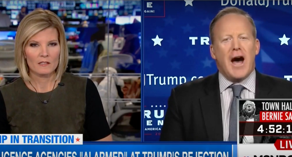 'Stop doing that!': RNC spokesman freaks out when asked why he doesn't trust the CIA on Russian hacks