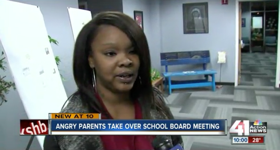 Parents give school board hell after teacher accused of teaching whites are superior gets paid leave
