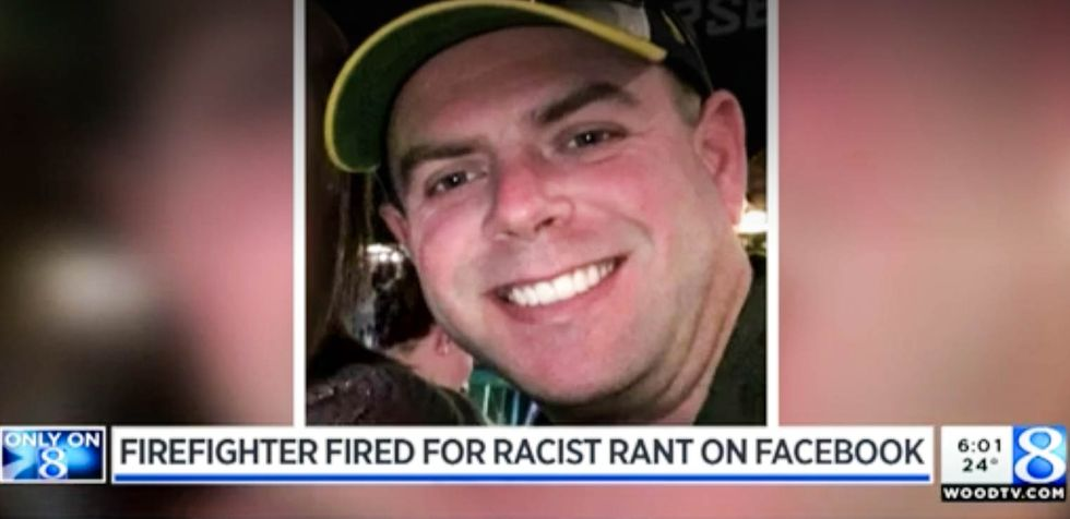 Michigan firefighter canned after berating black woman with incredibly racist pro-slavery rant