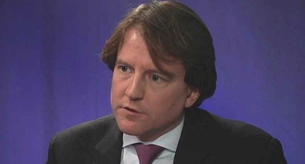 White House counsel McGahn has spent the past nine months sharing private Trump information with Mueller investigators: report