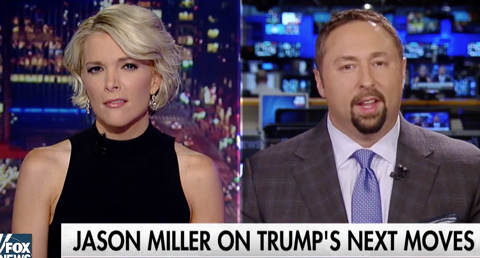 'Is that a hard question?': Megyn Kelly badgers Trump spokesman for hedging on climate change stance