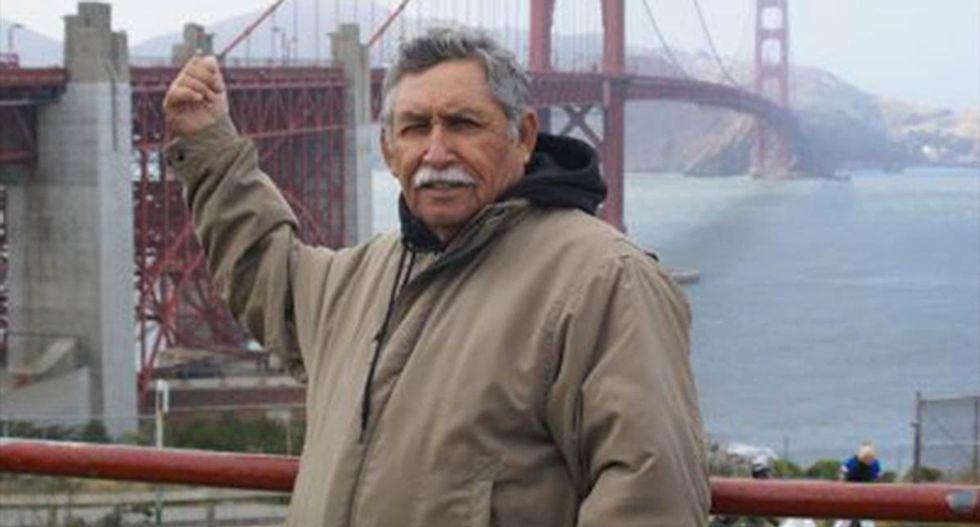 California police answering gunman report shoot unarmed 73-year-old Francisco Serna dead