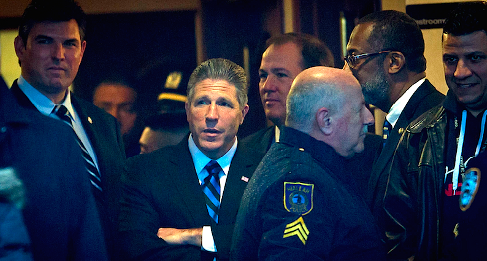 NYPD union boss leading police revolt against mayor faces own rebellion