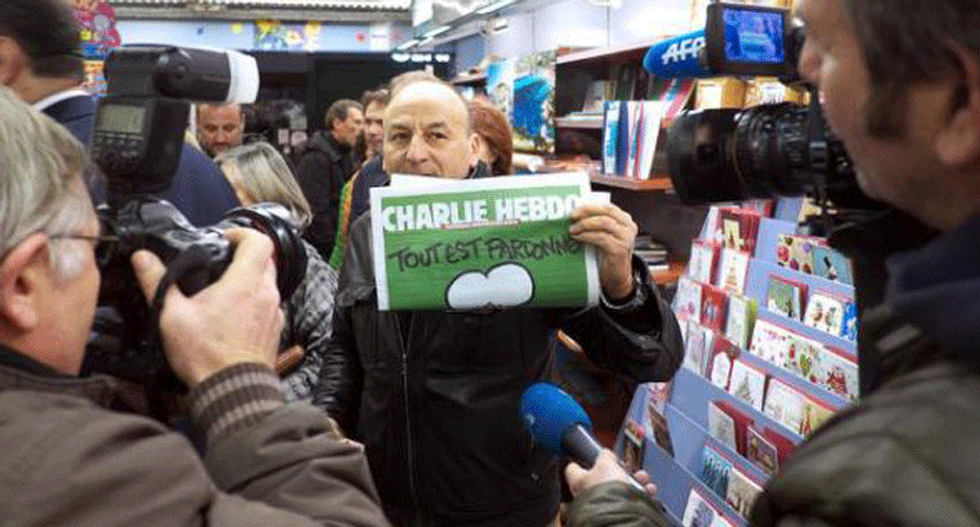 Iran condemns 'insulting' Charlie Hebdo prophet cover as 'abuse of freedom of speech'