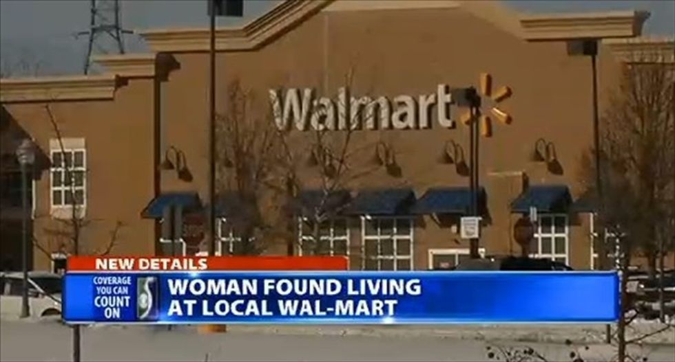 Michigan woman kicked out of Walmart after squatting in store for two days