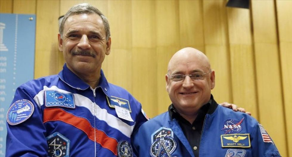 Astronauts prepare for year-long International Space Station mission -- and the possible side effects