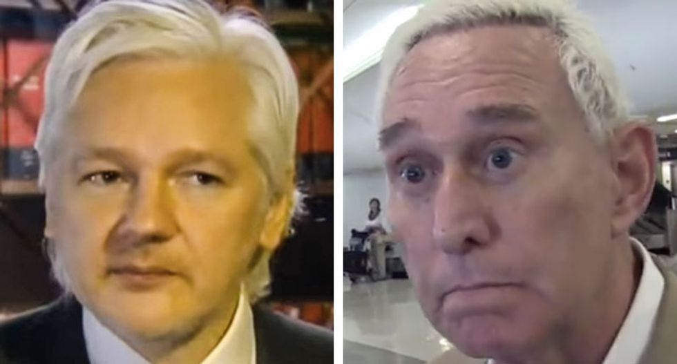 Roger Stone and WikiLeaks have publicly denied they communicated — but secret messages prove otherwise