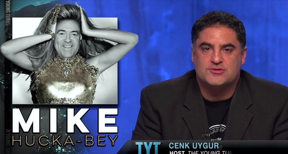 Cenk Uygur slams Huckabee: He'll blast Beyonce after playing bass with Ted Nugent