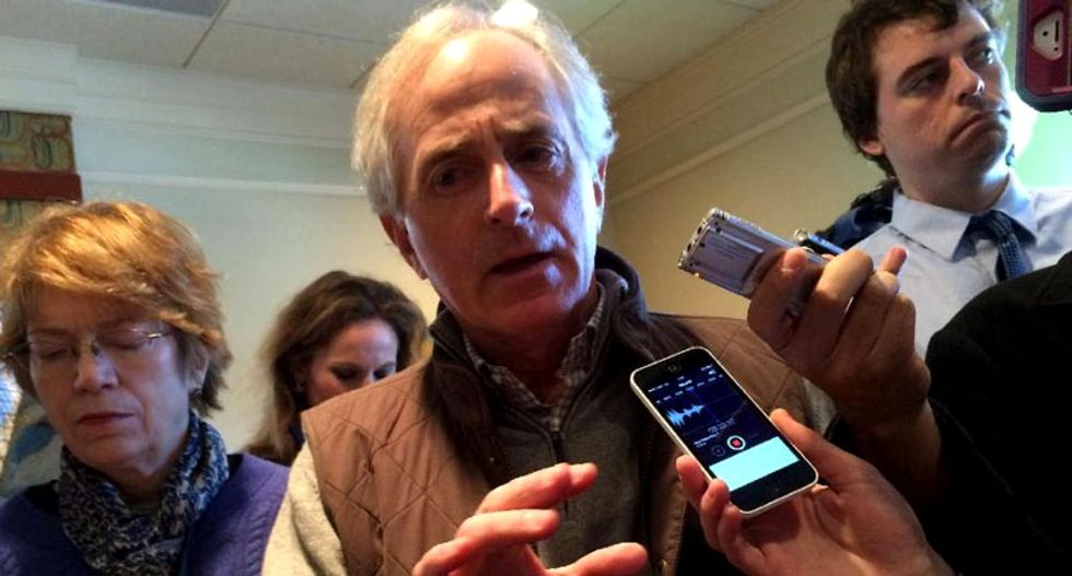 Republican Senator Bob Corker: Tear the Confederate flag down -- 'it serves no purpose anymore'
