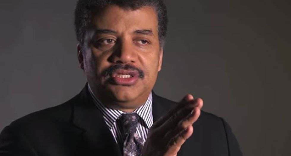 Neil deGrasse Tyson slaps down 'science-deniers' like Mike Pence as 'threats to democracy'
