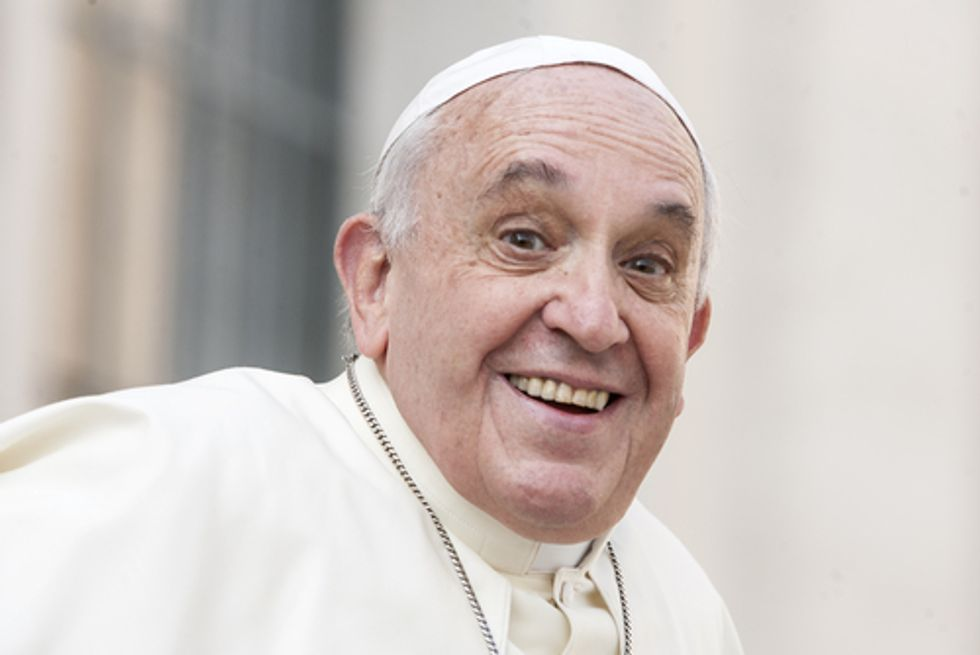 Pope Francis is wrong. Religion deserves ridicule.