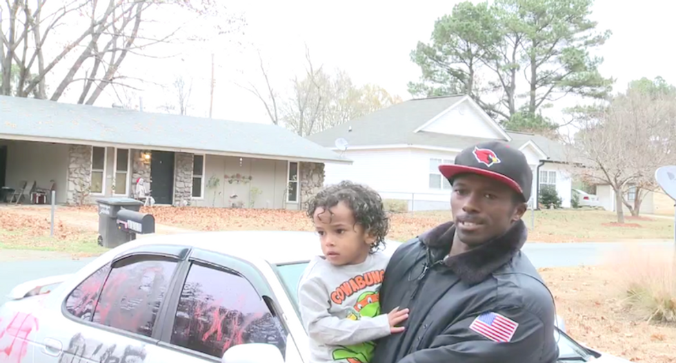 Local dealership donates new car to black veteran whose car was vandalized with racist graffiti