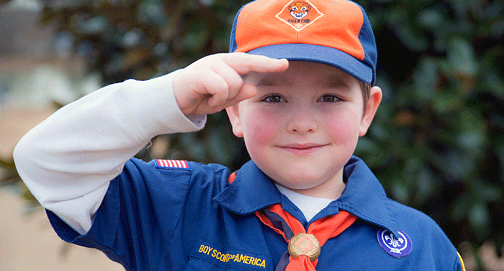 Cub Scouts kick out 11-year-old boy after he asked Colorado Republican 'hard' questions