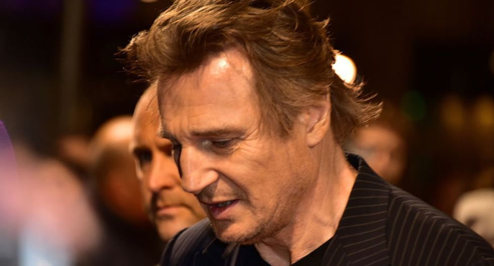 Gun company shows support for the Second Amendment: No more guns for Liam Neeson!