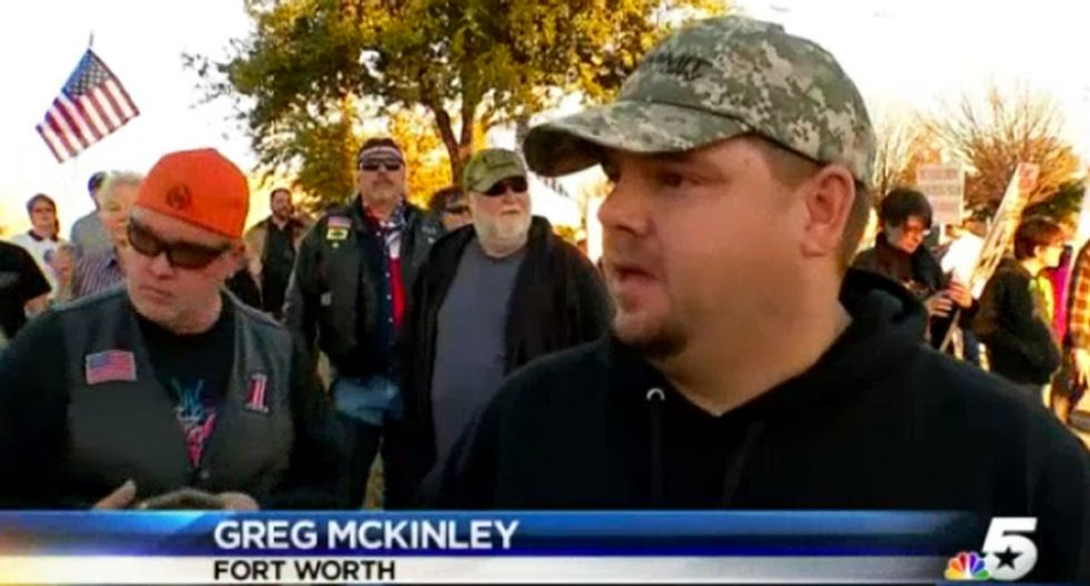 WATCH: Protesters surround conference put on by Texas Muslims: 'You are not Americans'