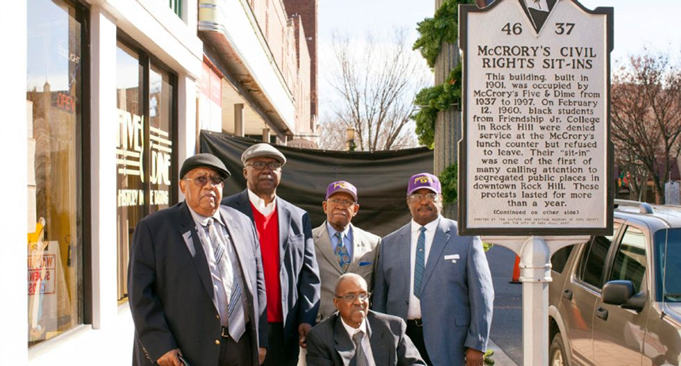 South Carolina lunch counter civil rights pioneers to be exonerated by court after fifty-four years
